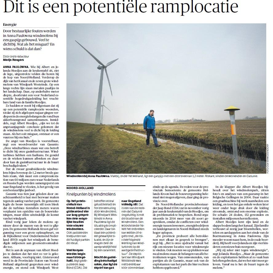 NRC Windpark Westeinde